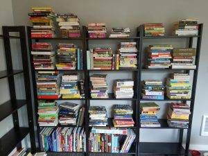 unpacking-and-stacking-books