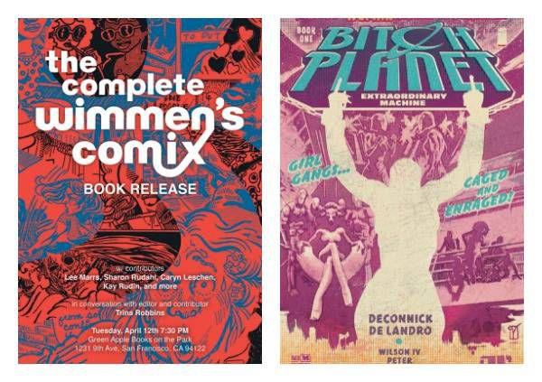 radical women's comics