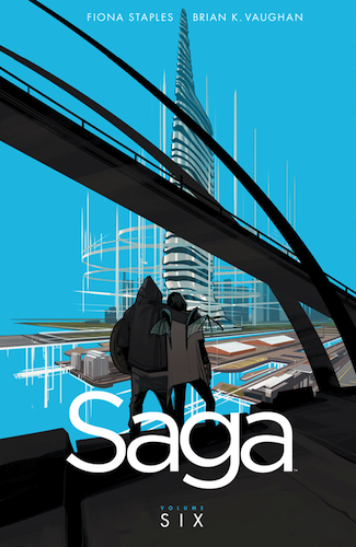 Saga Vol 6 by Fiona Staples and Brian K Vaughan