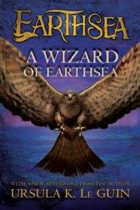 A Wizard of Earthsea cover by Ursula LeGuin