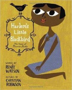 Harlem's Little Blackbird Book Cover | 18 Books to Celebrate Black Music Month | BookRiot.com
