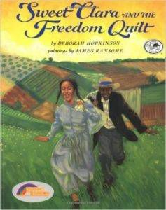 Sweet Clara and the Freedom Quilt book cover