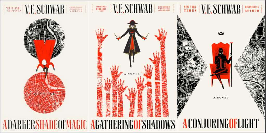 Image result for V.E. schwab books
