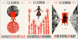 A Darker Shade of Magic VE Schwab Series Book Covers