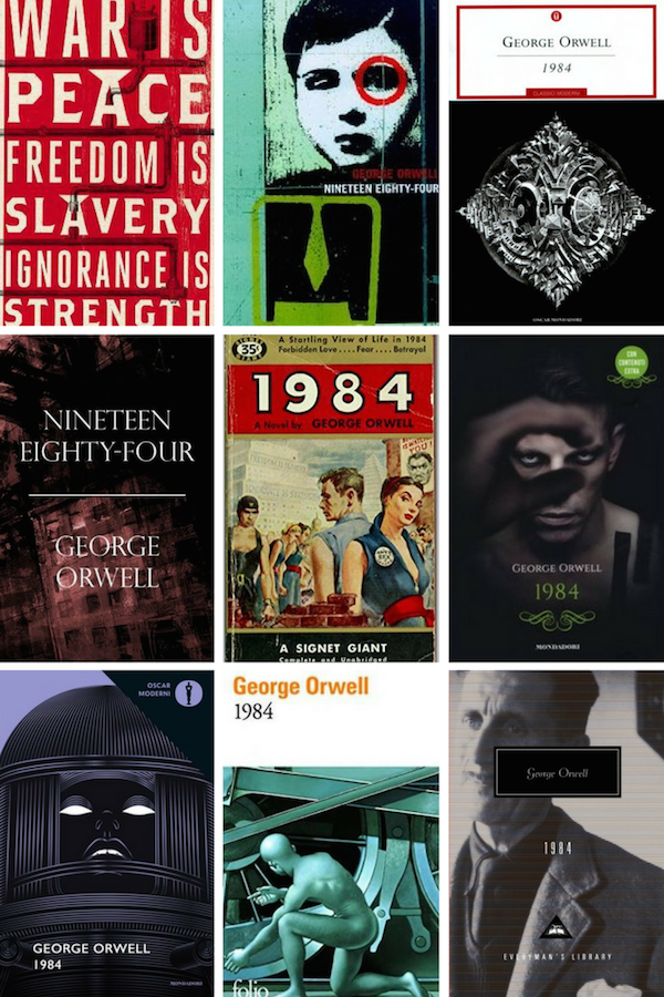 1984 By George Orwell In Covers Bookriotcom