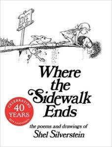 Cover of Where the sidewalk ends by shel silverstein