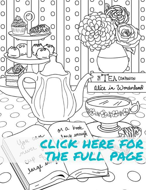 literary coloring page