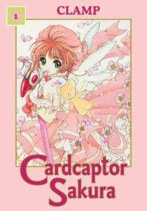 Cardcaptor Sakura volume 1 cover. Art by CLAMP. Dark Horse.