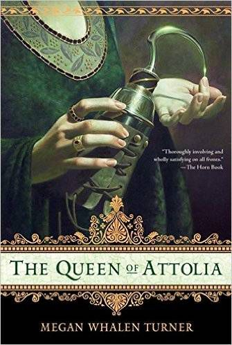 The Queen of Attolia by Megan Whalen Turner cover