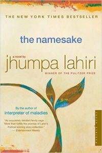 Cover of THE NAMESAKE by Jhumpa Lahiri