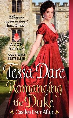 image of the cover of Romancing the Duke by Tessa Dare