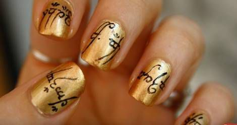Manicure Inspiration: 10 Amazing Bookish Nail Art Tutorials