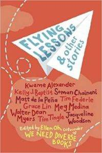 Flying lessons and other stories book cover - books for 6th graders