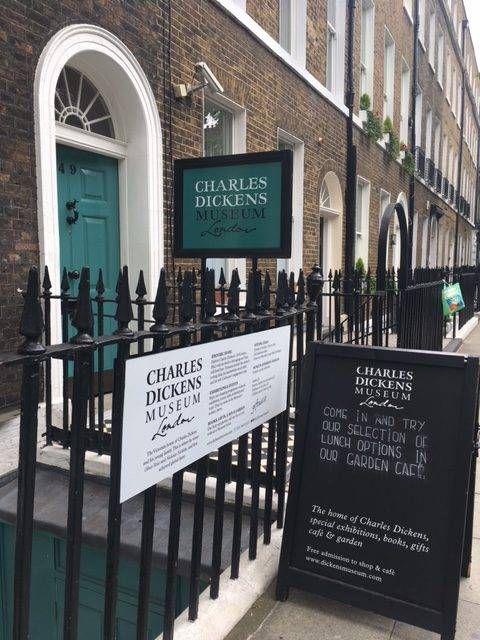 charles dickens museum exterior