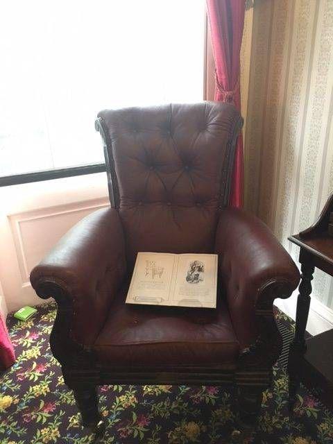 dickens's armchair