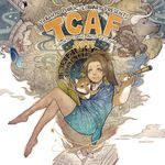 TCAF 2017 poster by Sana Takeda. Toronto Comic Arts Festival.