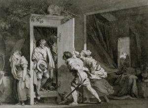 The Armoire by Jean-Honoré Fragonard