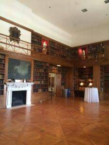 allerton mansion library