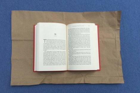 how to make a small book with paper