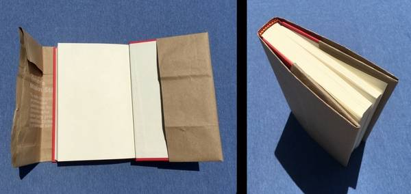 How To Make A Paper Bag Book Cover (With