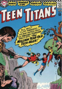 silver age teen titans cover