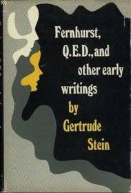 Cover of Fernhurst QED and other early writings by Gertrude Stein