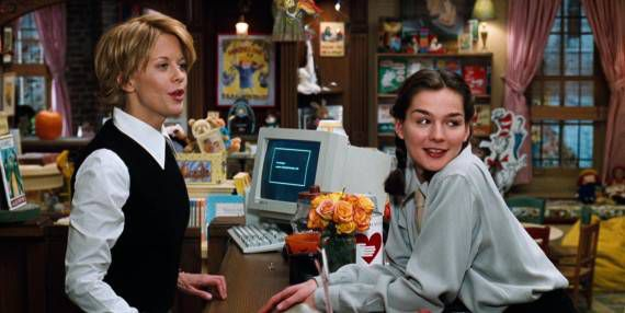 Still from You've Got Mail in 10 Ways to Experience the Holidays Like a Bookseller | BookRiot.com