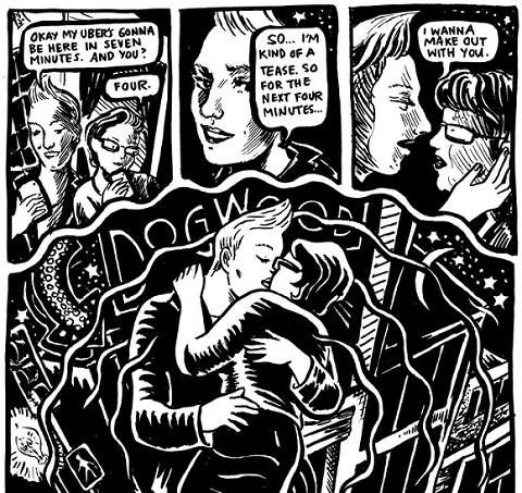 Preview art from Elizabeth Beier's Big Book of Bisexual Trials and Errors