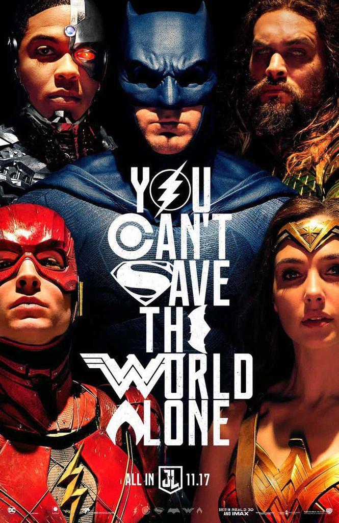 Justice League SDCC Poster. 2017.