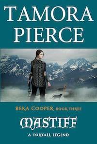 cover of Mastiff by Tamora Pierce