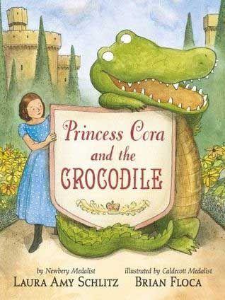 Princess Cora and the Crocodile Cover