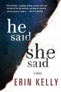He Sais/She Said by Erin Kelly