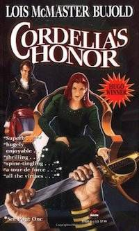 5 Sci-Fi Fantasy Novels With Badass Middle-Aged Heroines -- Cordelia's Honor by Lois McMaster Bujold | BookRiot.com