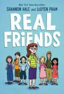 Real friends book cover - books for 6th graders