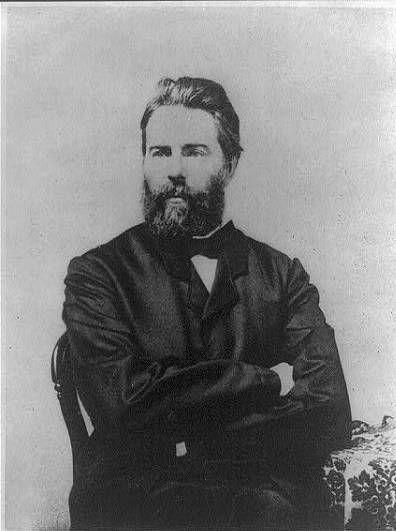 Herman Melville 1861