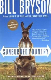 Bryson In a Sunburned Country Cover in 100 Must-Read Travel Books | Book Riot