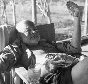 Ernest Hemingway in Kenya 1954