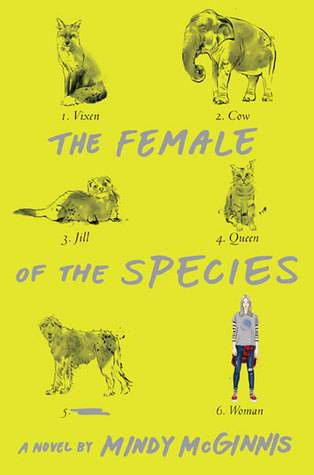 cover of The Female of the Species by Mindy McGinnis