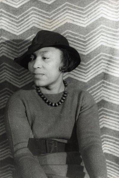 Portrait of Zora Neale Hurston 1938