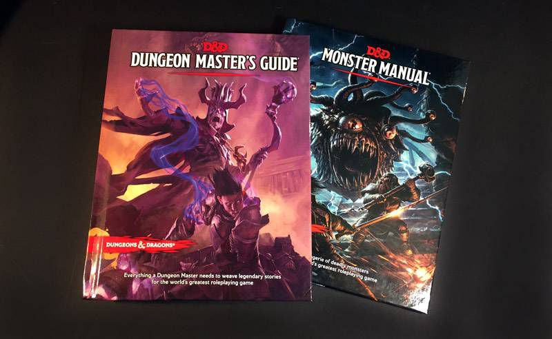 dungeon masters guide monster manual