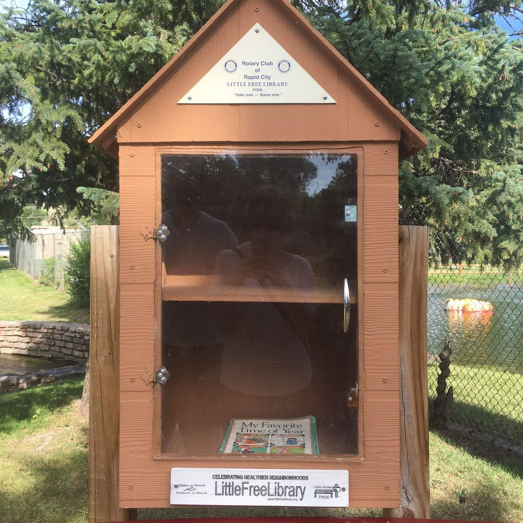 Little Free Library at Storybook Island in South Dakota