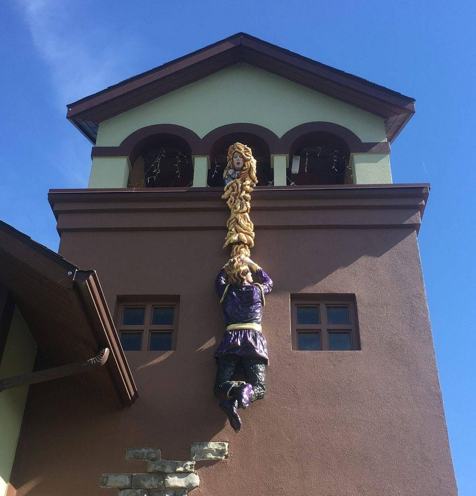 Rapunzel at Storybook Island in South Dakota