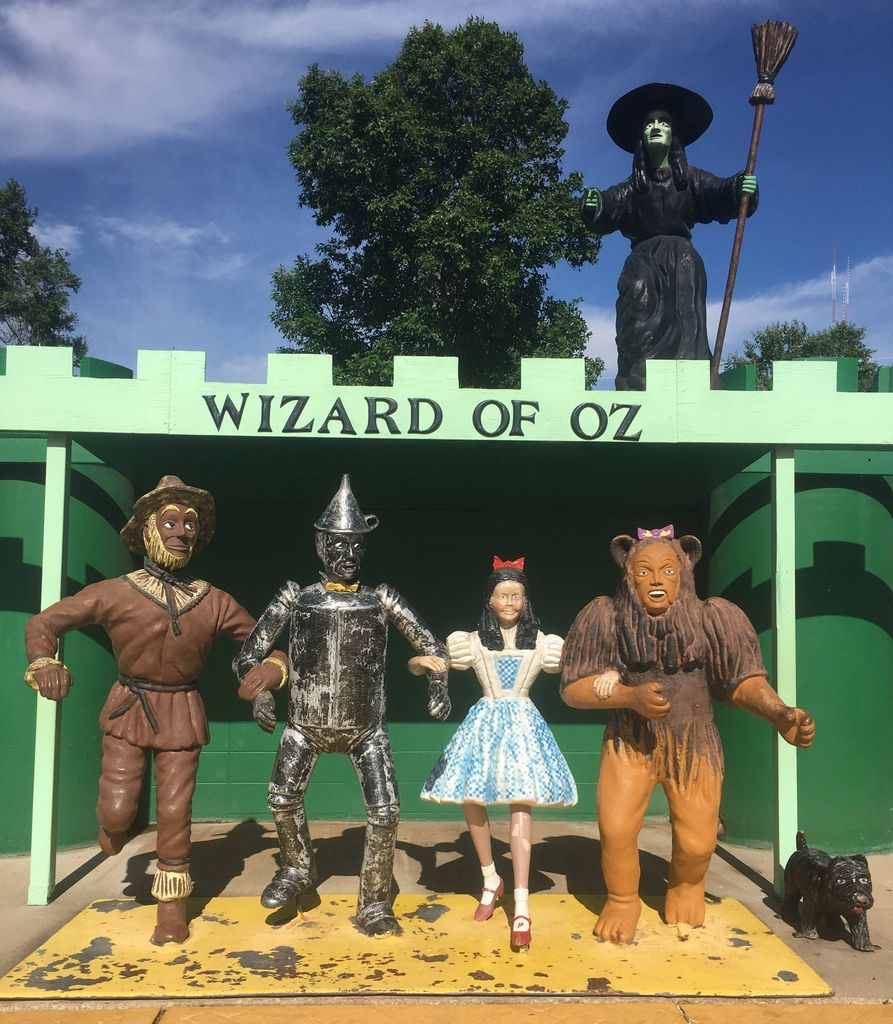 Wizard of Oz at Storybook Island in South Dakota