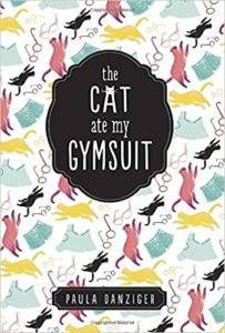 The Cat Ate My Gymsuit Book Cover