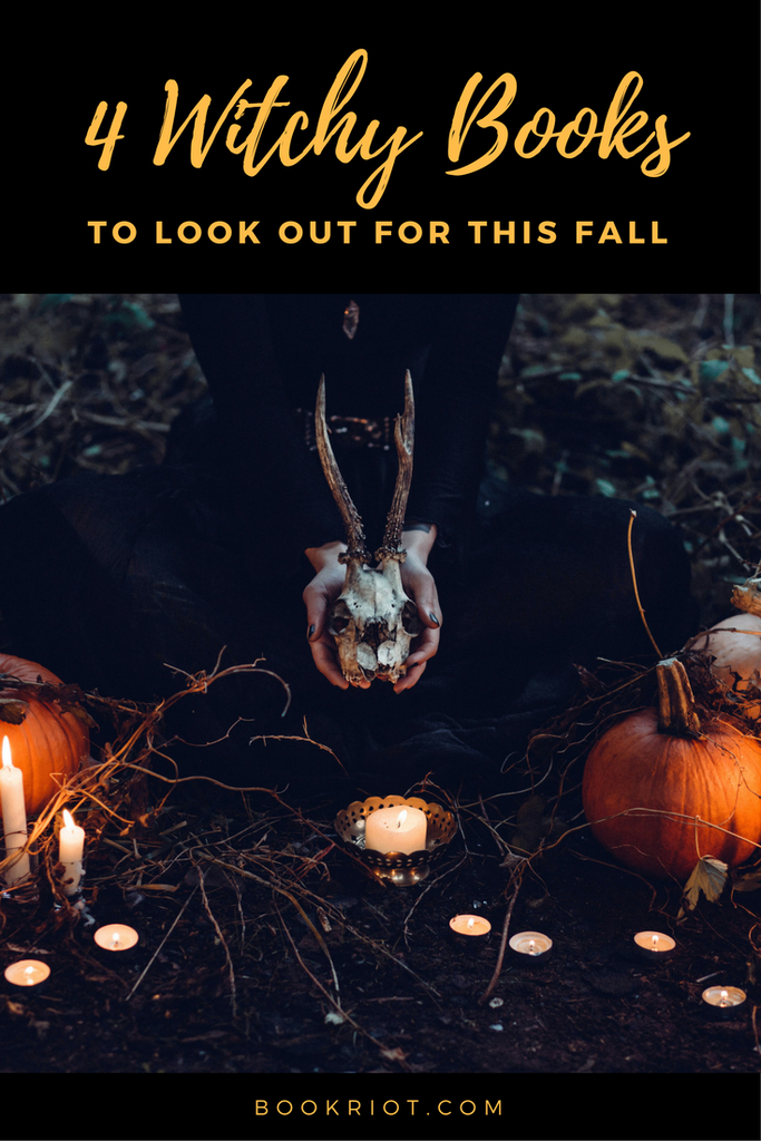 witchy fiction books fall 2017