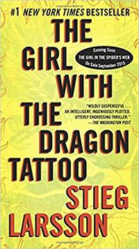 larsson girl with the dragon tattoo cover