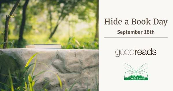 Goodreads Hide a Book Day