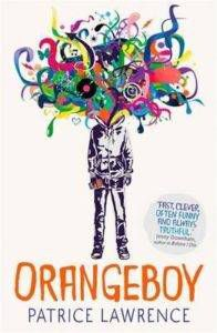 Orangeboy front cover by Patrice Lawrence