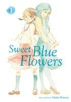 Cover of Sweet Blue Flowers by Takao Shimura