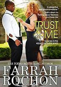 cover of trust me by farrah rochon